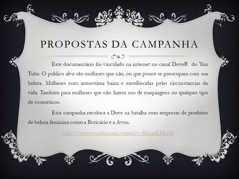 Propostas da Campanha