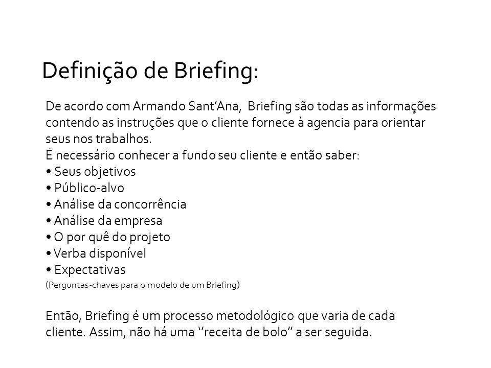 Definição de Briefing: