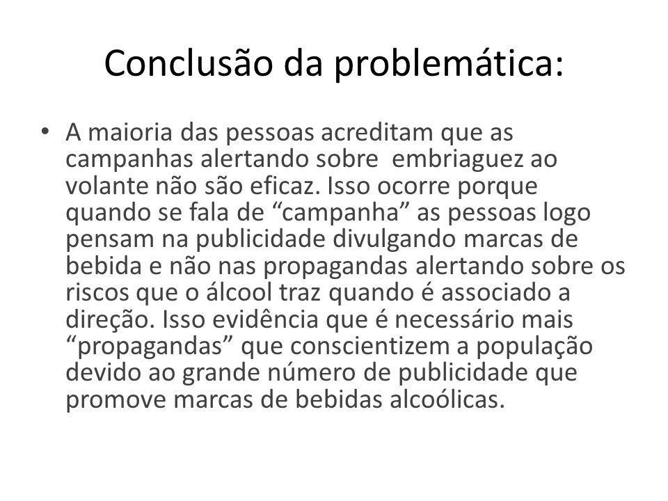 Conclusão da problemática: