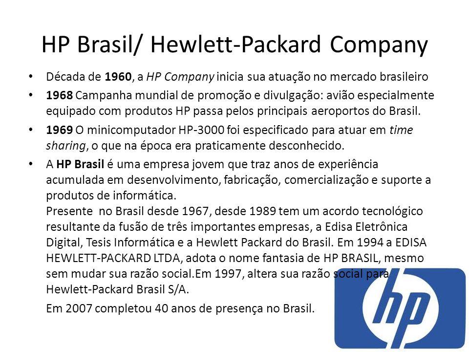 HP Brasil/ Hewlett-Packard Company