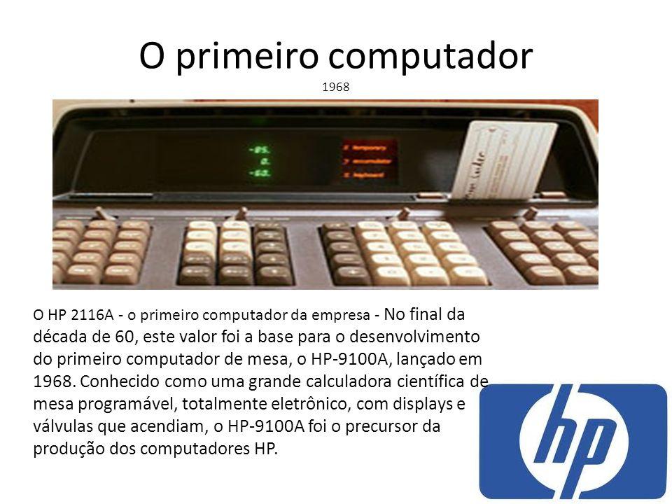 O primeiro computador 1968