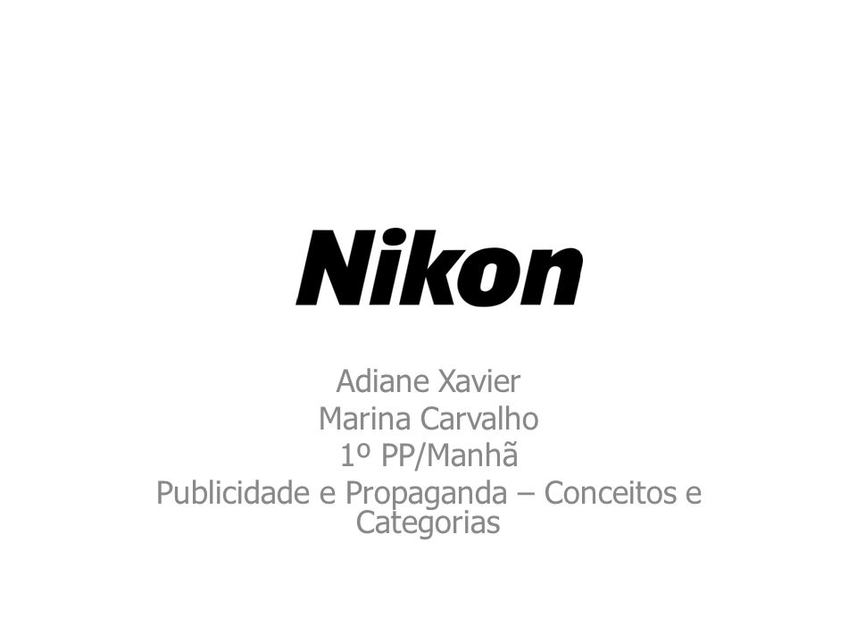Publicidade e Propaganda – Conceitos e Categorias