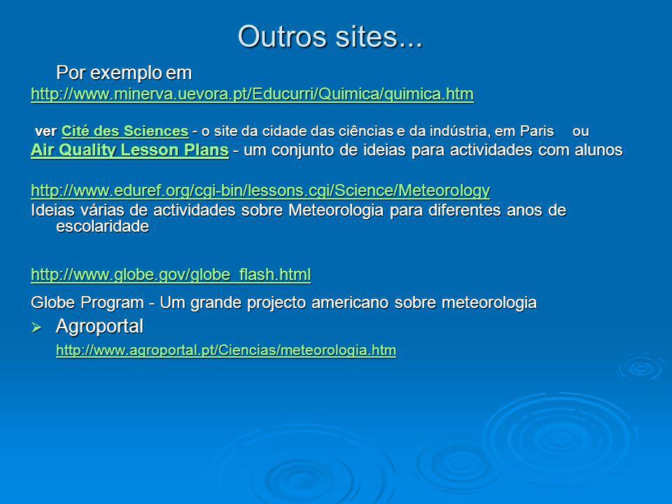Outros sites... Por exemplo em Agroportal