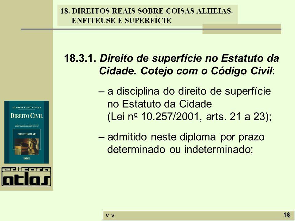 18. 3. 1. Direito de superfície no Estatuto da Cidade