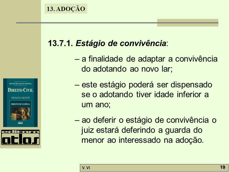 13.7.1. Estágio de convivência: