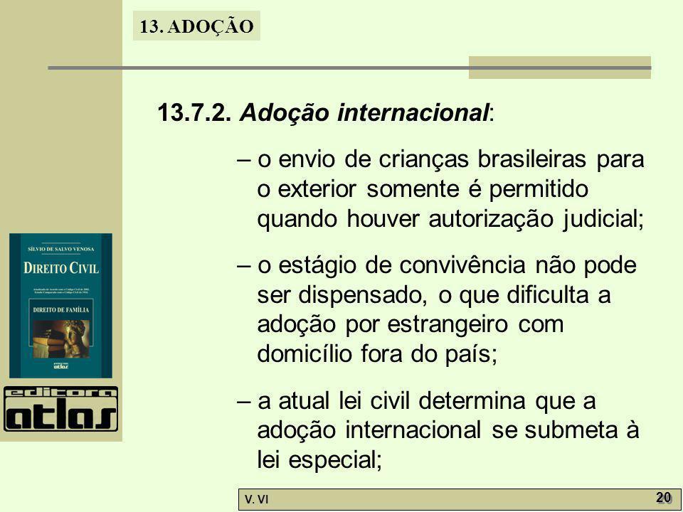 13.7.2. Adoção internacional: