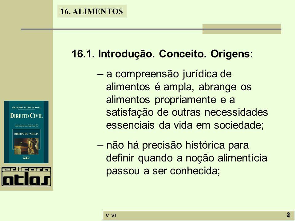 16.1. Introdução. Conceito. Origens: