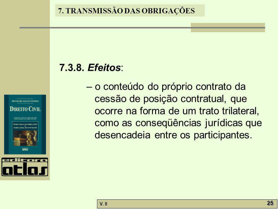 7.3.8. Efeitos: