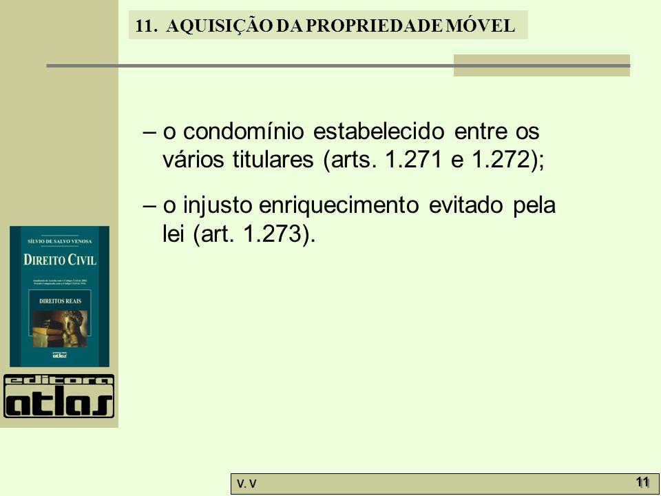 – o condomínio estabelecido entre os vários titulares (arts. 1.271 e 1.272);