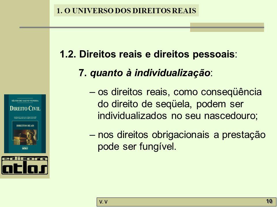 1.2. Direitos reais e direitos pessoais: