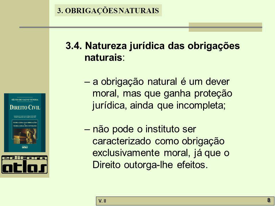 3.4. Natureza jurídica das obrigações naturais: