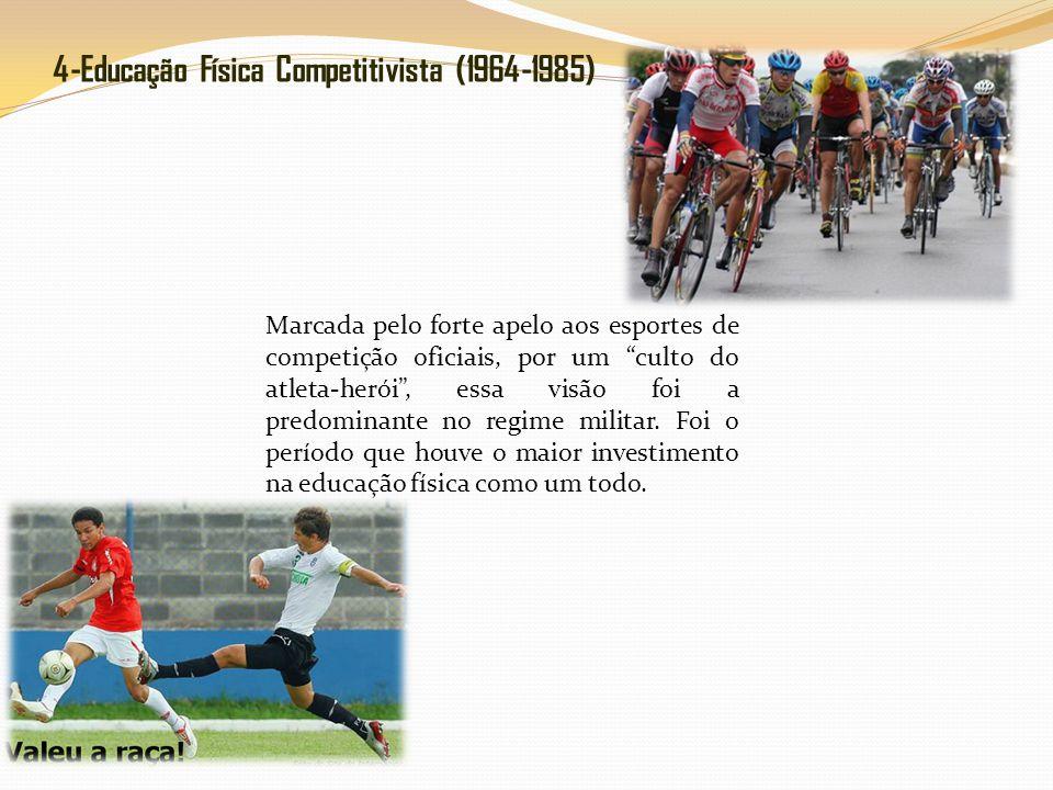 4-Educação Física Competitivista (1964-1985)