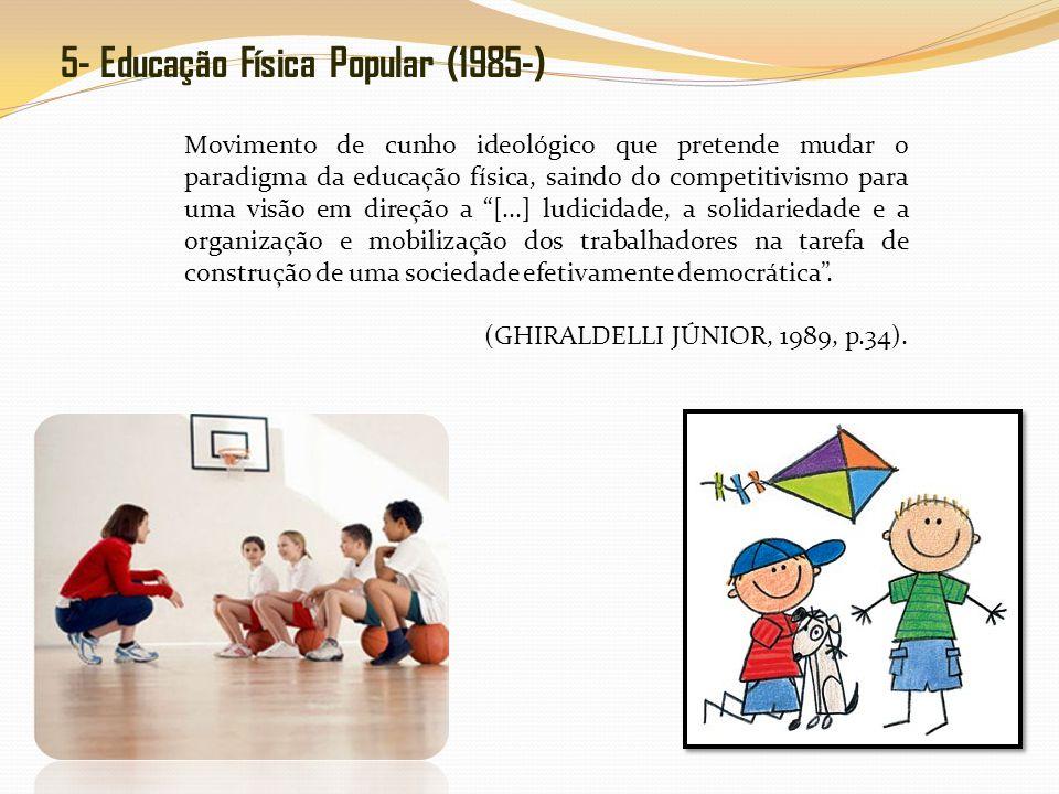 5- Educação Física Popular (1985-)