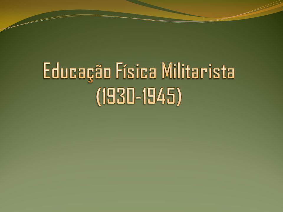 Educação Física Militarista (1930-1945)