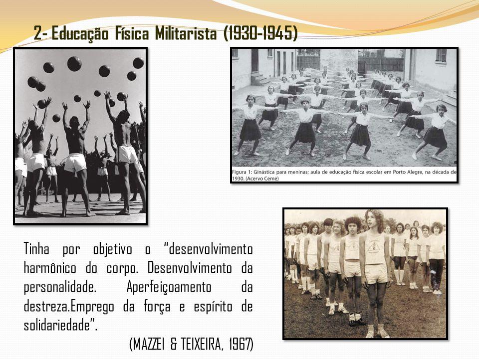 2- Educação Física Militarista (1930-1945)