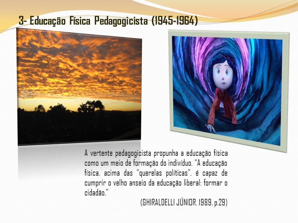 3- Educação Física Pedagogicista (1945-1964)