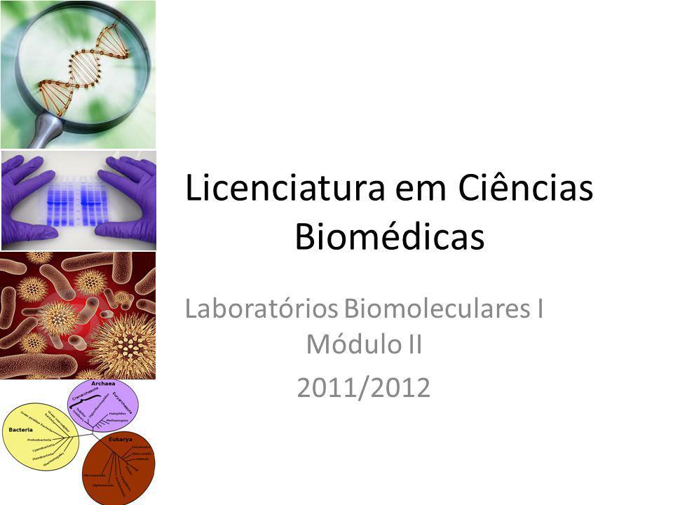 Licenciatura em Ciências Biomédicas