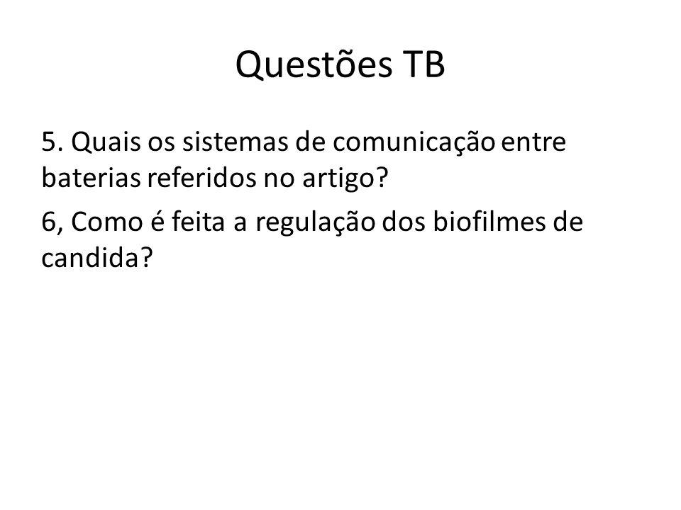 Questões TB 5. Quais os sistemas de comunicação entre baterias referidos no artigo.