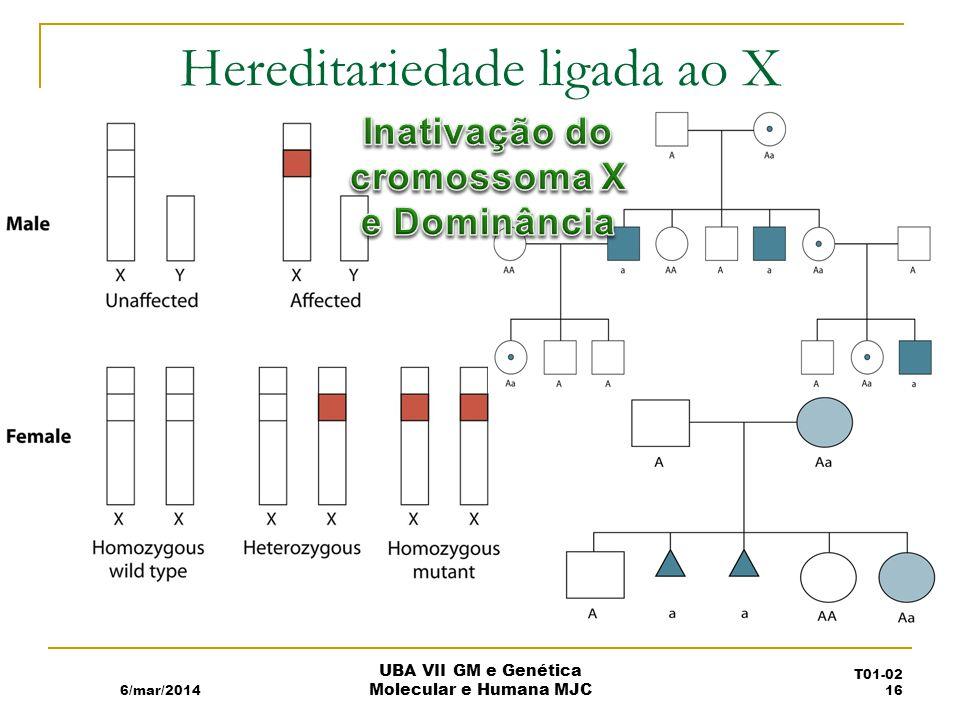 Hereditariedade ligada ao X
