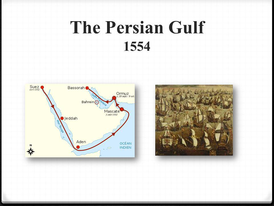 The Persian Gulf 1554