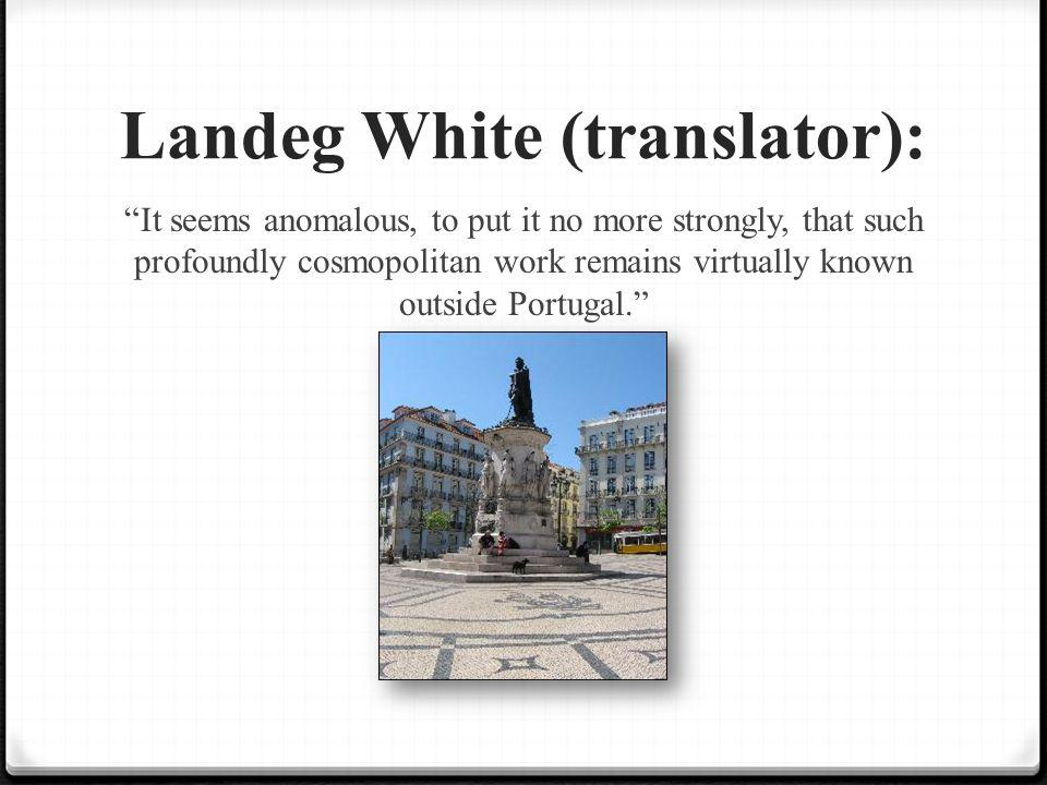 Landeg White (translator):