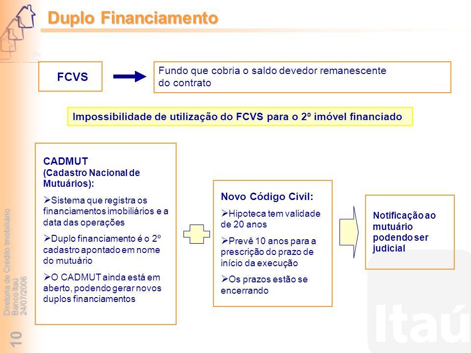 Duplo Financiamento FCVS
