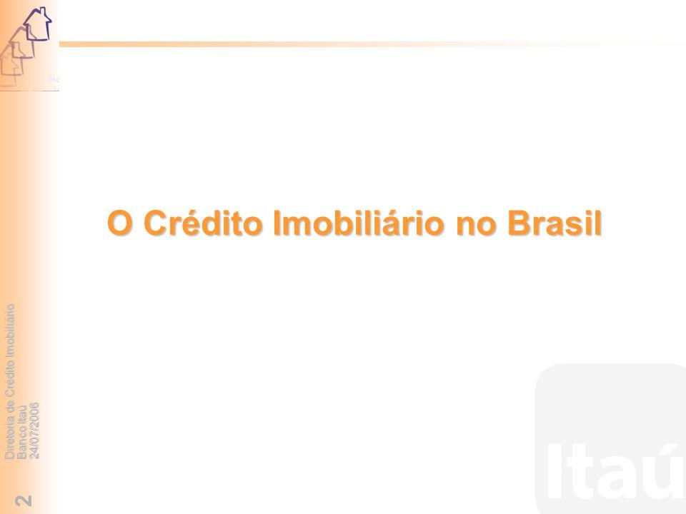 O Crédito Imobiliário no Brasil