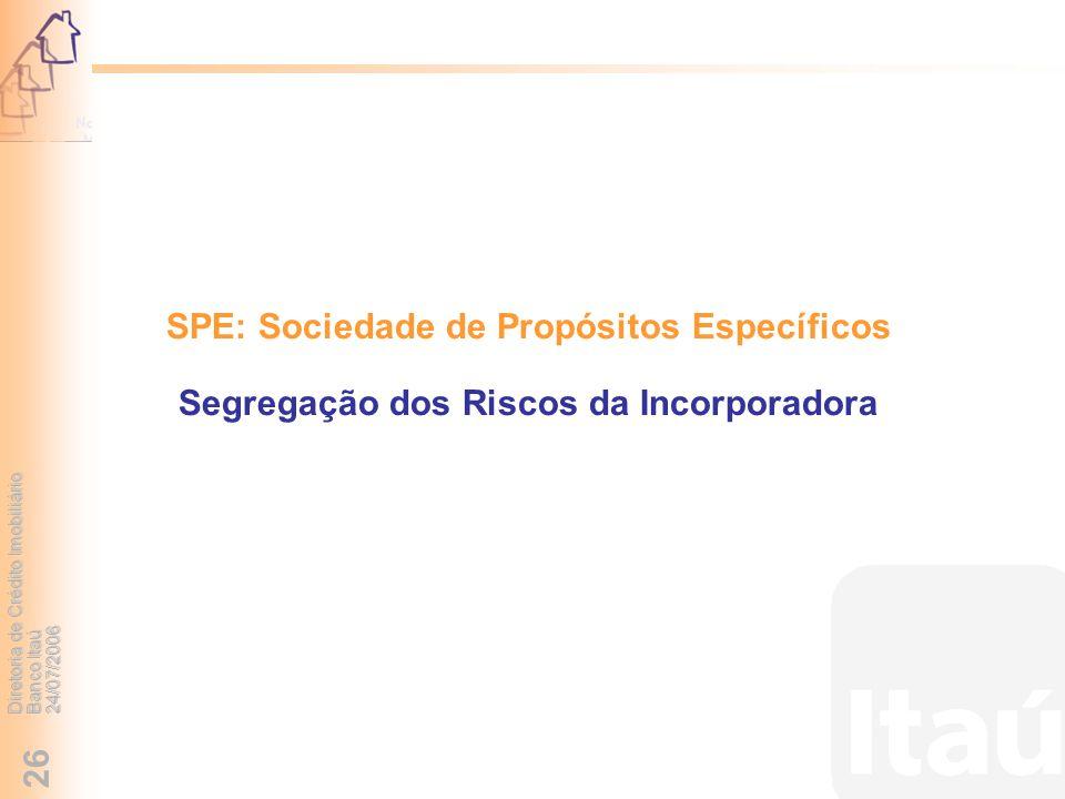 SPE: Sociedade de Propósitos Específicos