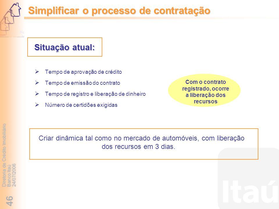 Simplificar o processo de contratação