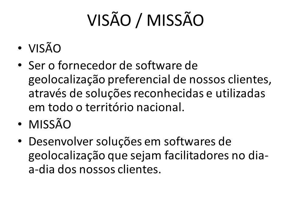 VISÃO / MISSÃO VISÃO.