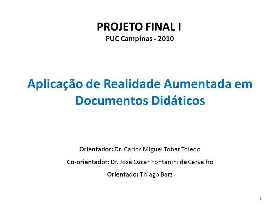 PROJETO FINAL I PUC Campinas - 2010