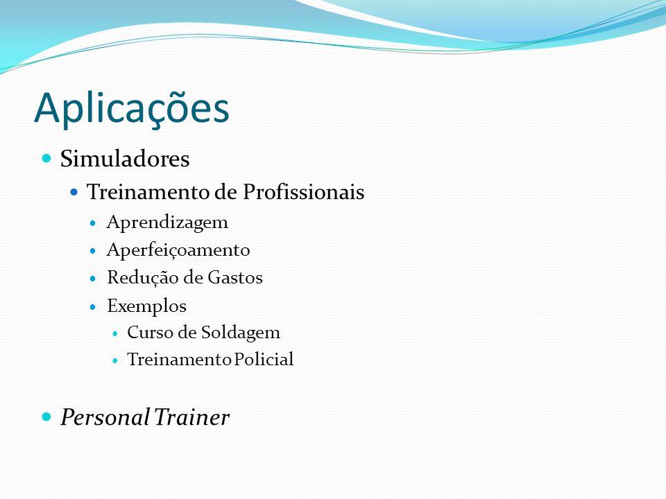 Aplicações Simuladores Personal Trainer Treinamento de Profissionais