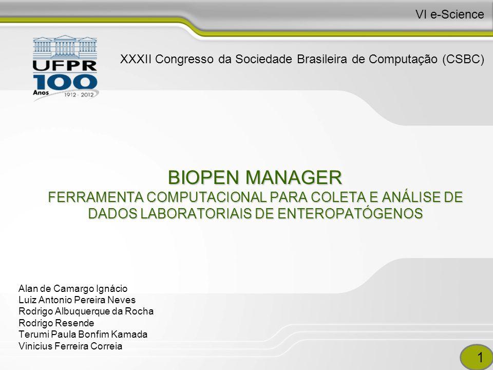 VI e-Science XXXII Congresso da Sociedade Brasileira de Computação (CSBC)