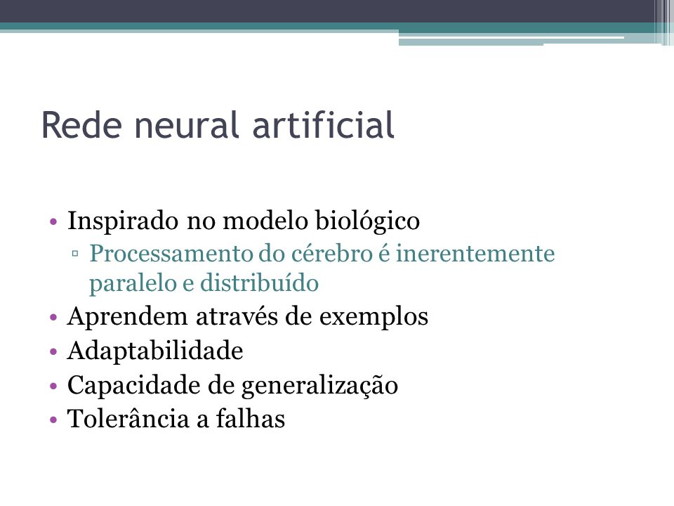Rede neural artificial