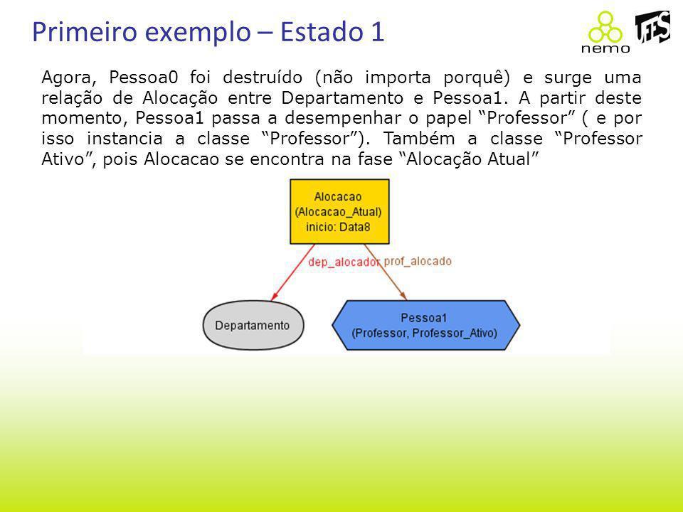 Primeiro exemplo – Estado 1