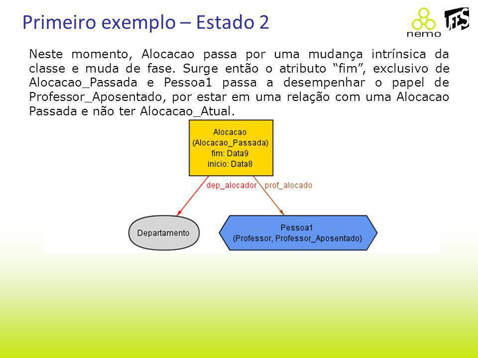 Primeiro exemplo – Estado 2