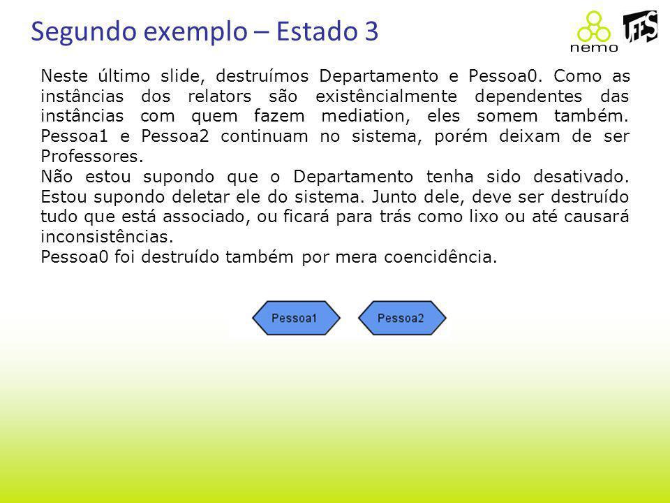 Segundo exemplo – Estado 3