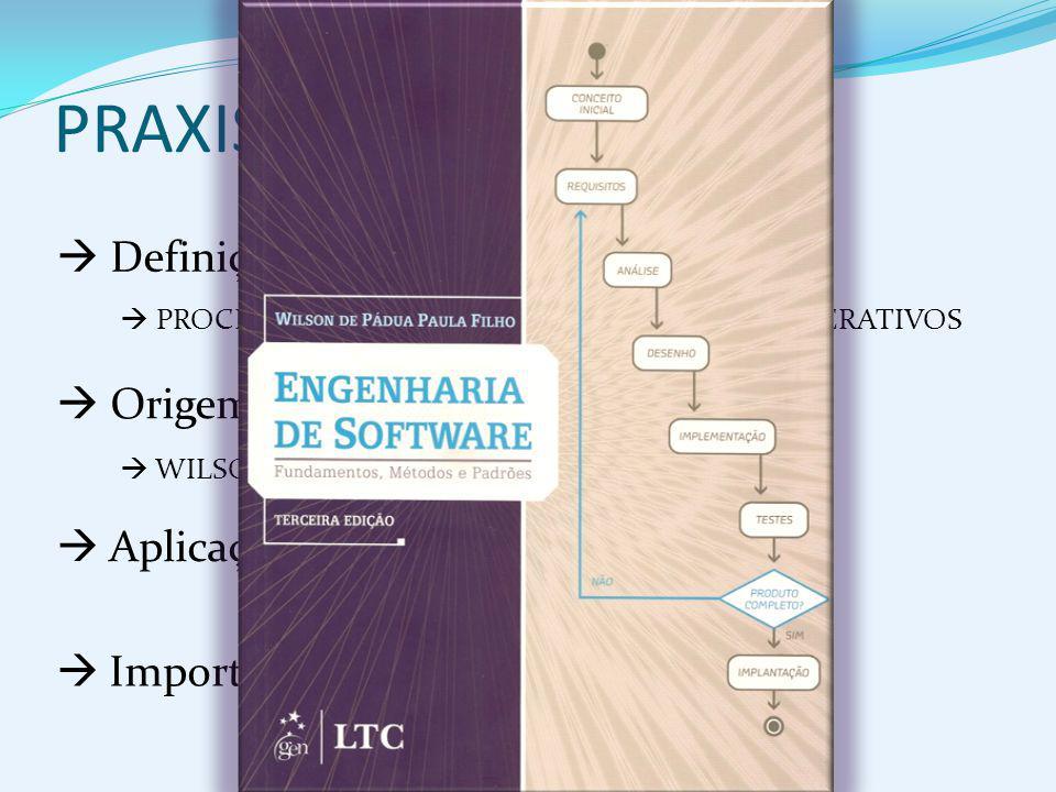 PRAXIS  Definição  Origem Aplicação Importância