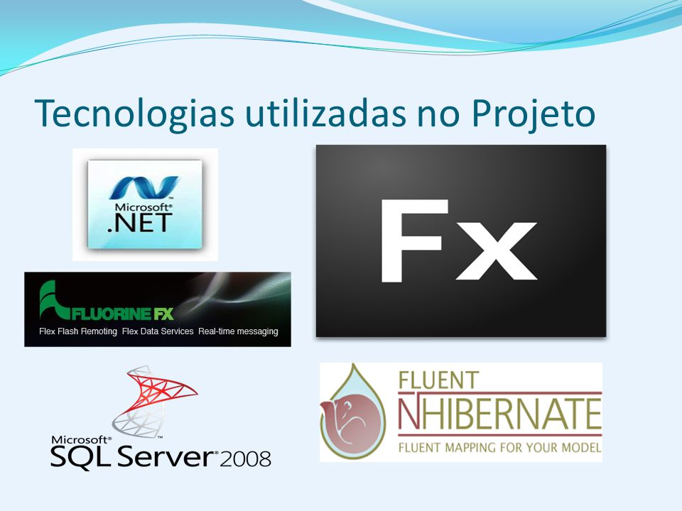 Tecnologias utilizadas no Projeto