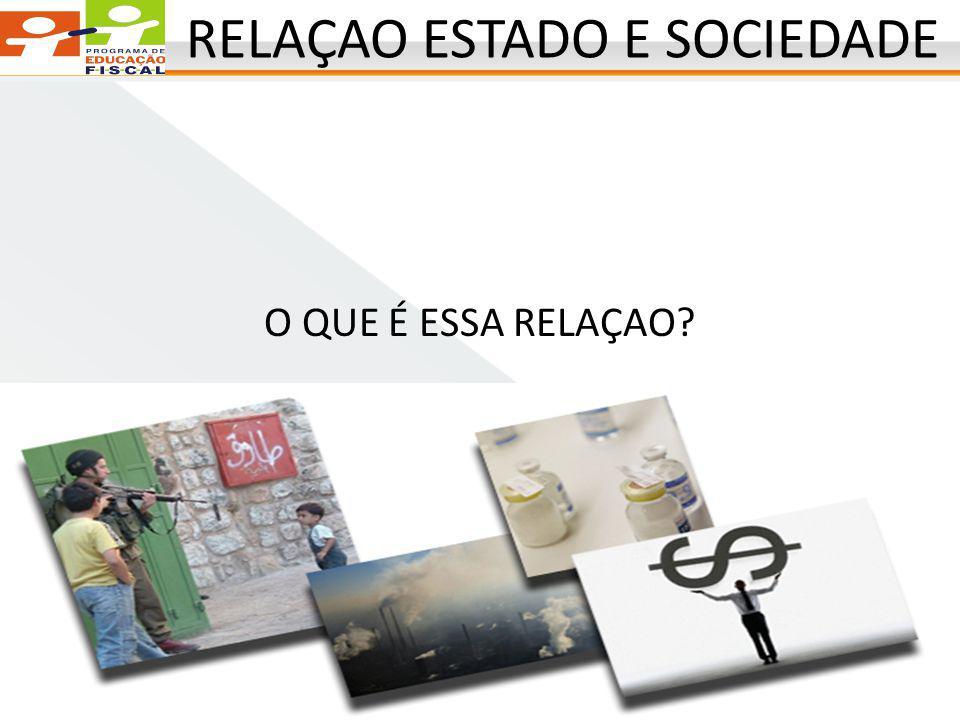RELAÇAO ESTADO E SOCIEDADE