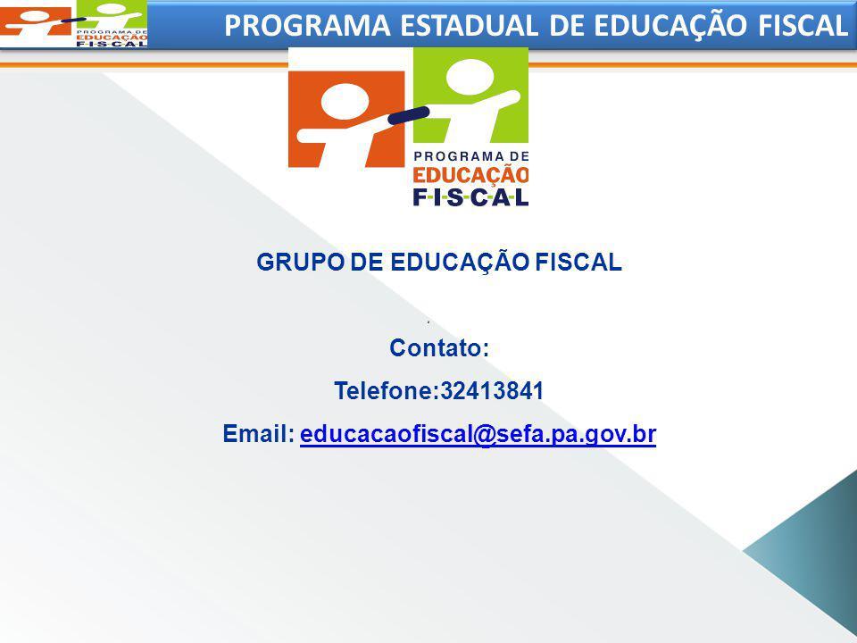 GRUPO DE EDUCAÇÃO FISCAL