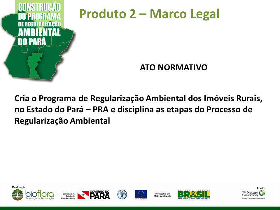 Produto 2 – Marco Legal ATO NORMATIVO