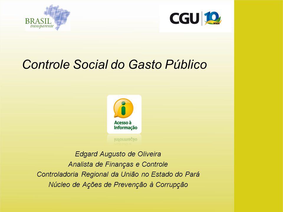 Controle Social do Gasto Público