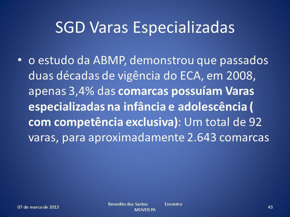 SGD Varas Especializadas