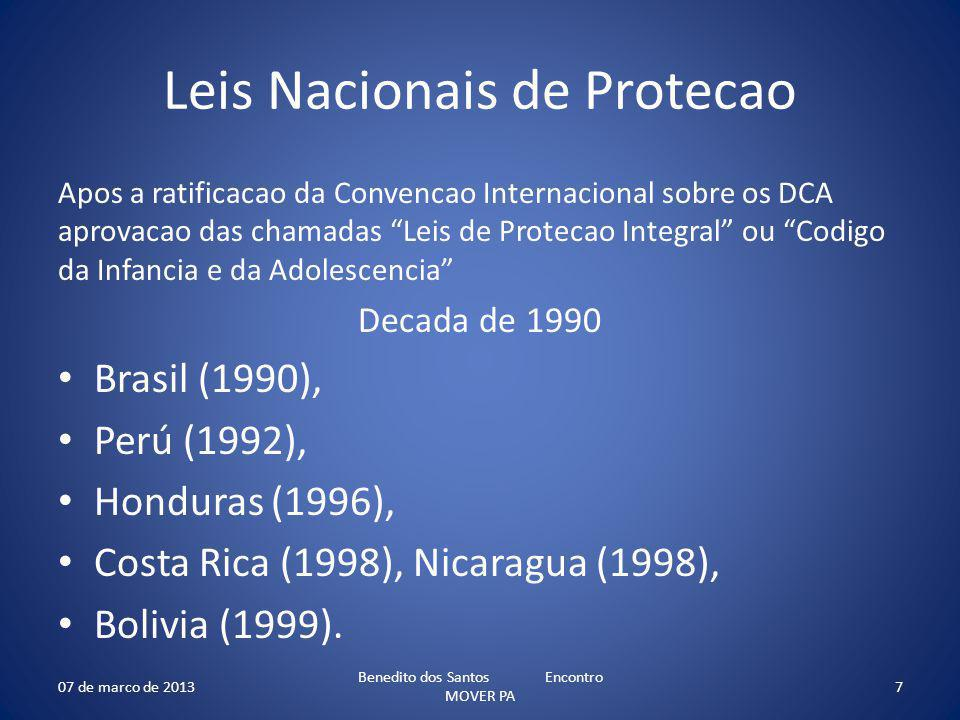 Leis Nacionais de Protecao