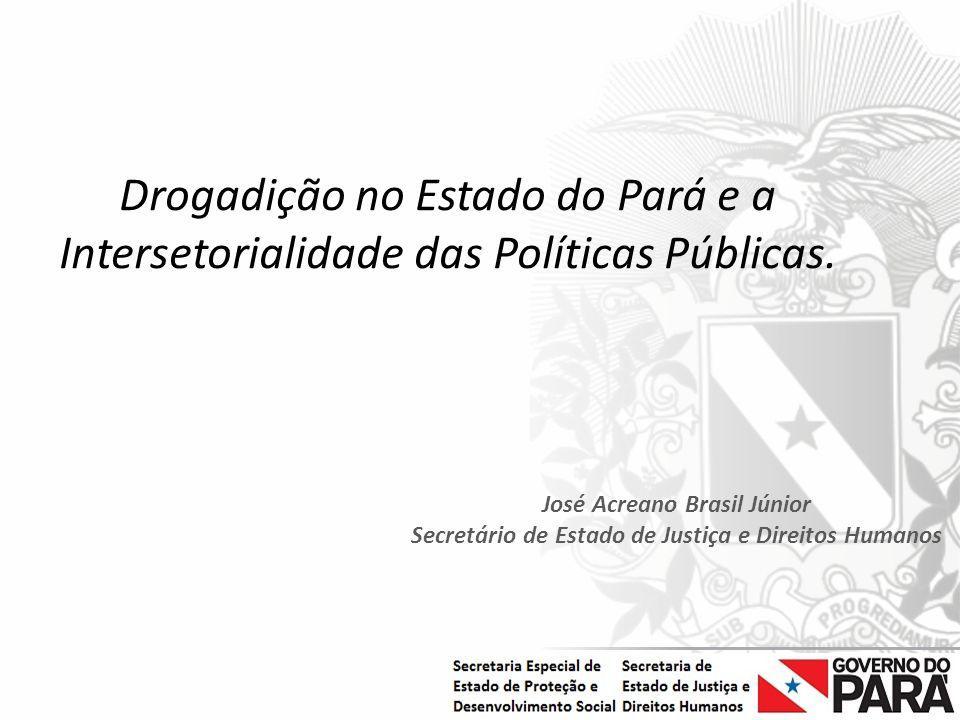 Drogadição no Estado do Pará e a Intersetorialidade das Políticas Públicas.