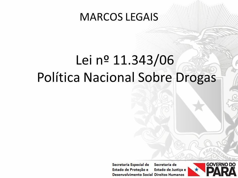 Política Nacional Sobre Drogas