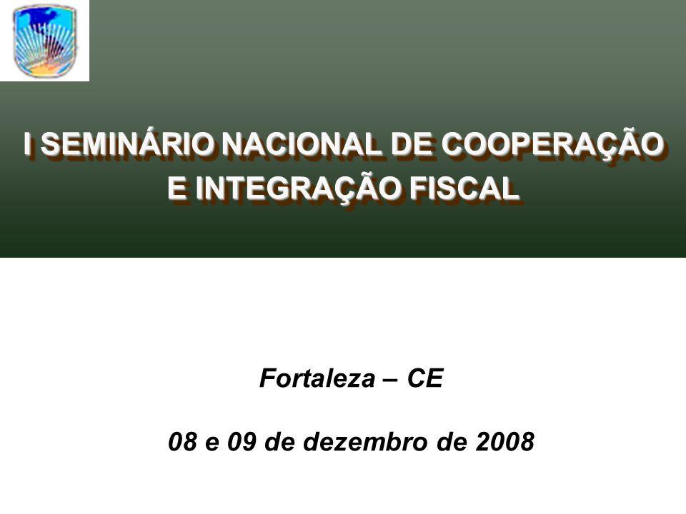 Fortaleza – CE 08 e 09 de dezembro de 2008