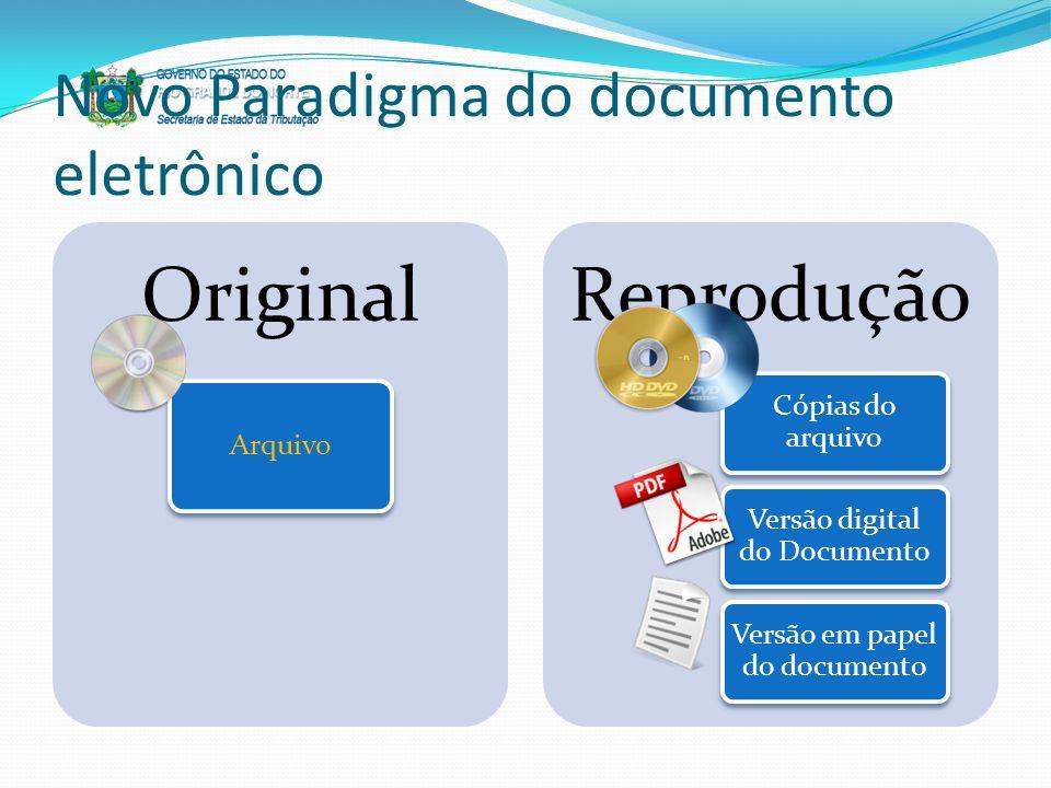 Novo Paradigma do documento eletrônico