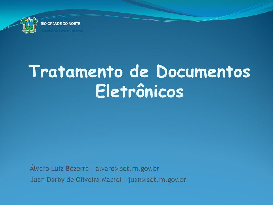 Tratamento de Documentos Eletrônicos